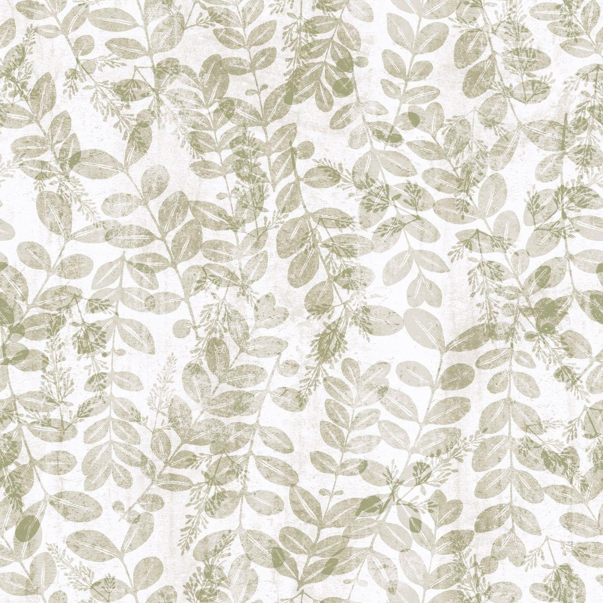 Papel mural vinilizado zen hojas beige 3711 1 cinthiasa for Colowall papel mural santiago