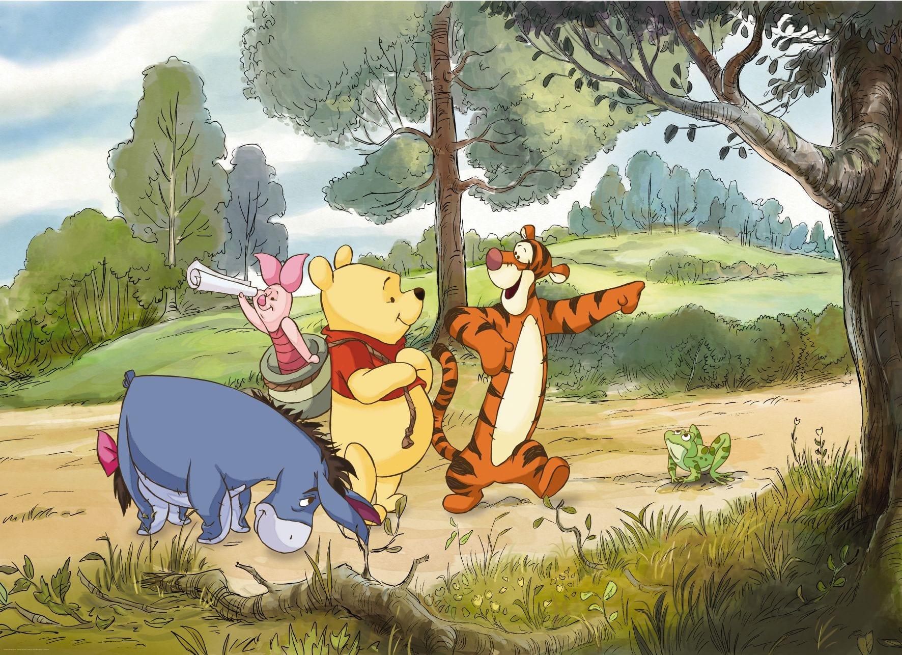 Fotomural infantil Winnie the Pooh DISNEY 4411 Komar