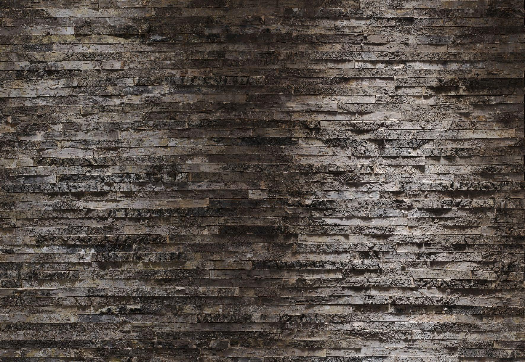 Fotomural muro negro y gris 8700 Komar