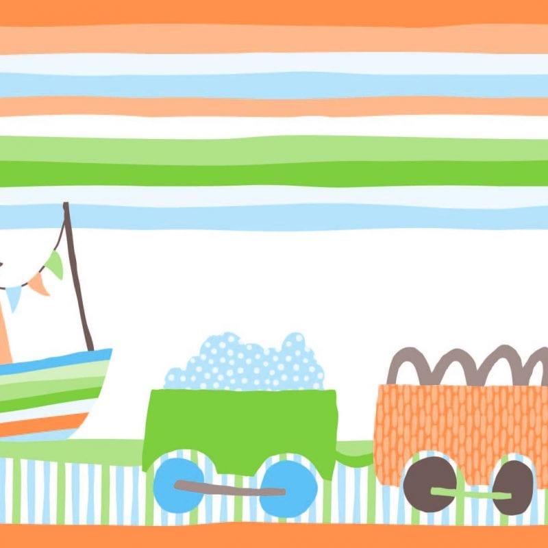 Guarda de papel infantil autitos 8751-1 Muresco