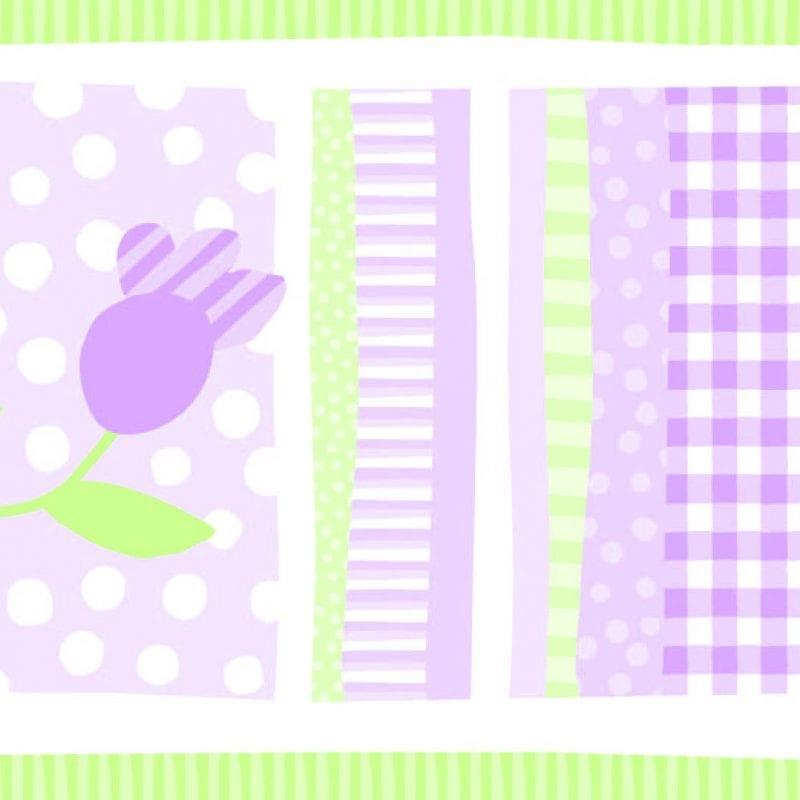 Guarda de papel infantil flores 8752-2 Muresco