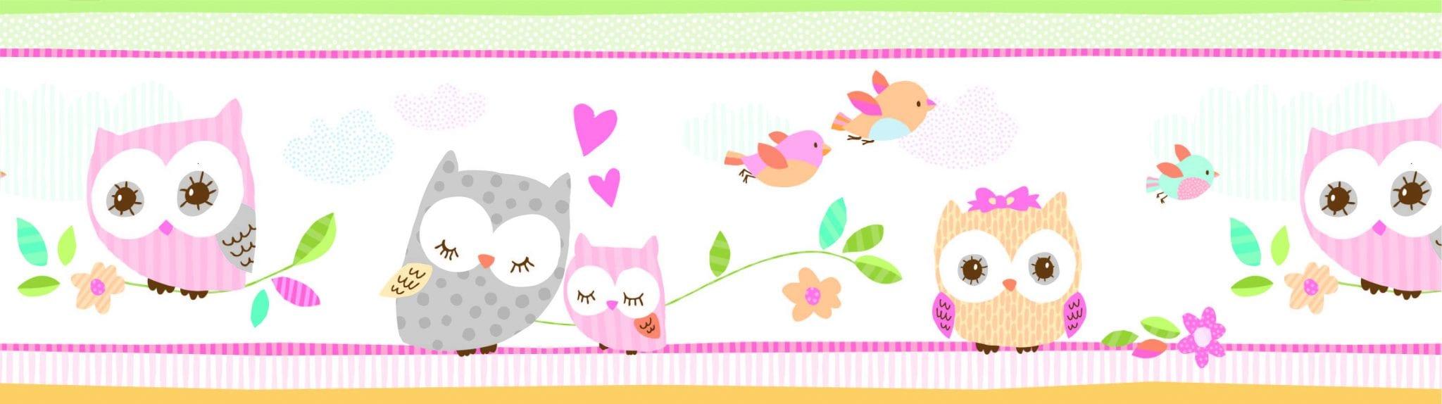 Guarda de papel infantil Buhos 8753-1 Muresco