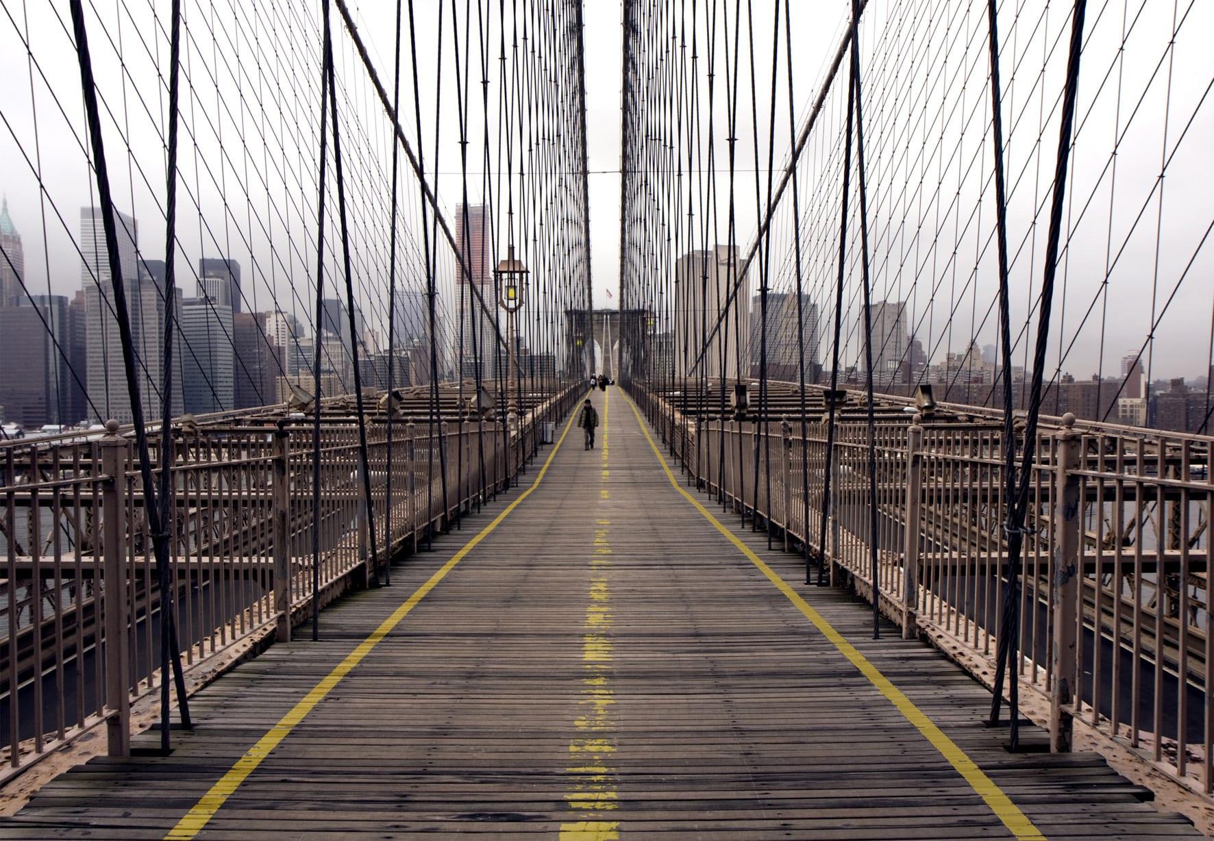 Fotomural Puente Brooklyn 97289