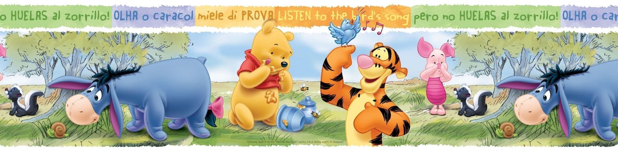 guarda de papel Winnie the pooh DISNEY 2566-1