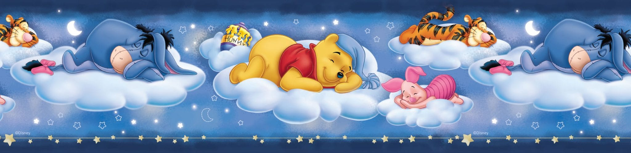 Guarda de papel infantil Pooh Disney 2580-1