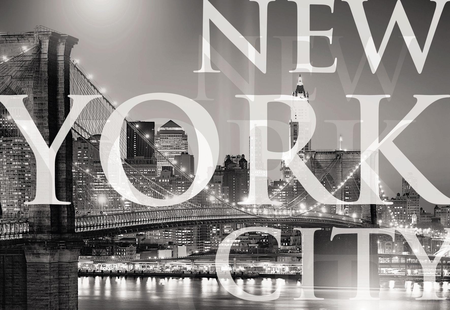 Fotomural Letras New York 1614 Komar