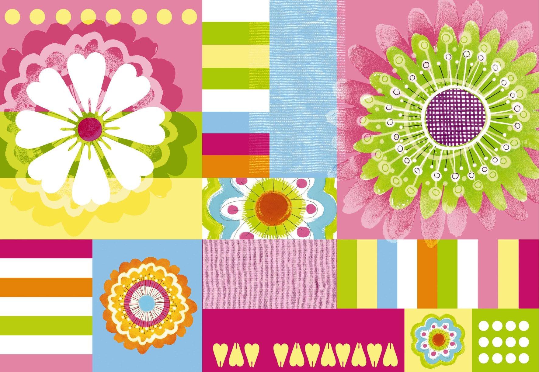 Fotomural flores y color 2906 Komar