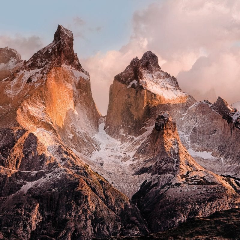 Fotomural Torres del Paine 4530 Komar