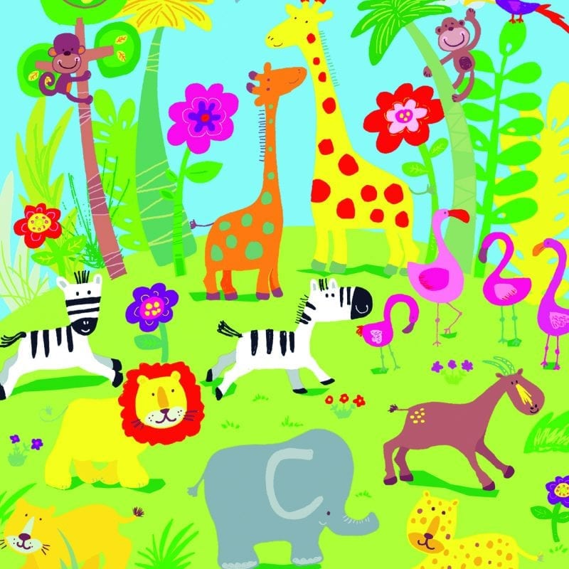 Fotomural infantil animales 418