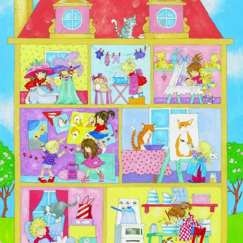 Fotomural Casa de muñecas 427