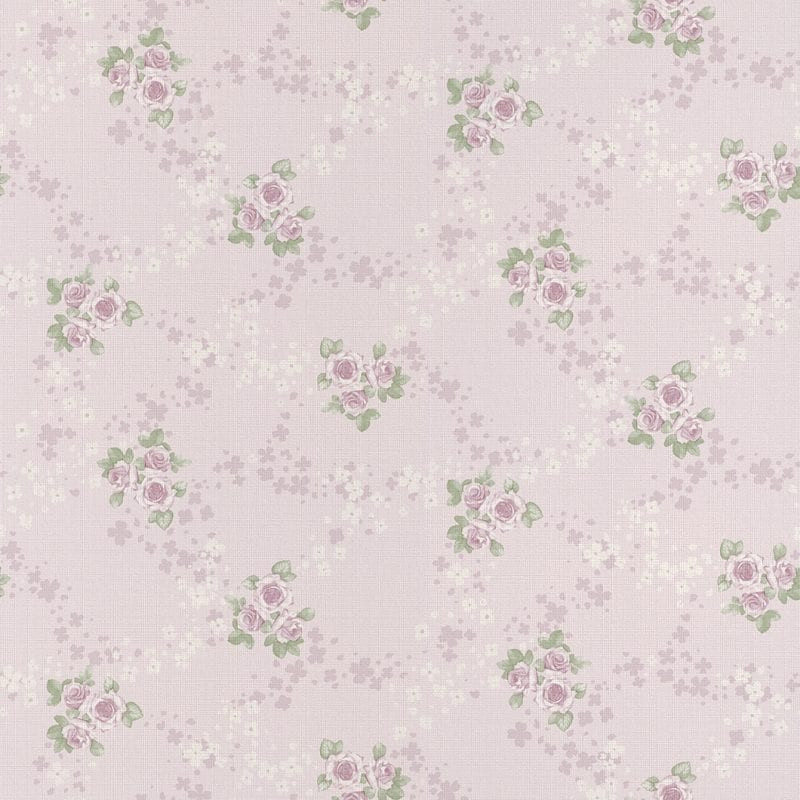 Papel mural flores rosadas 450923 Rasch