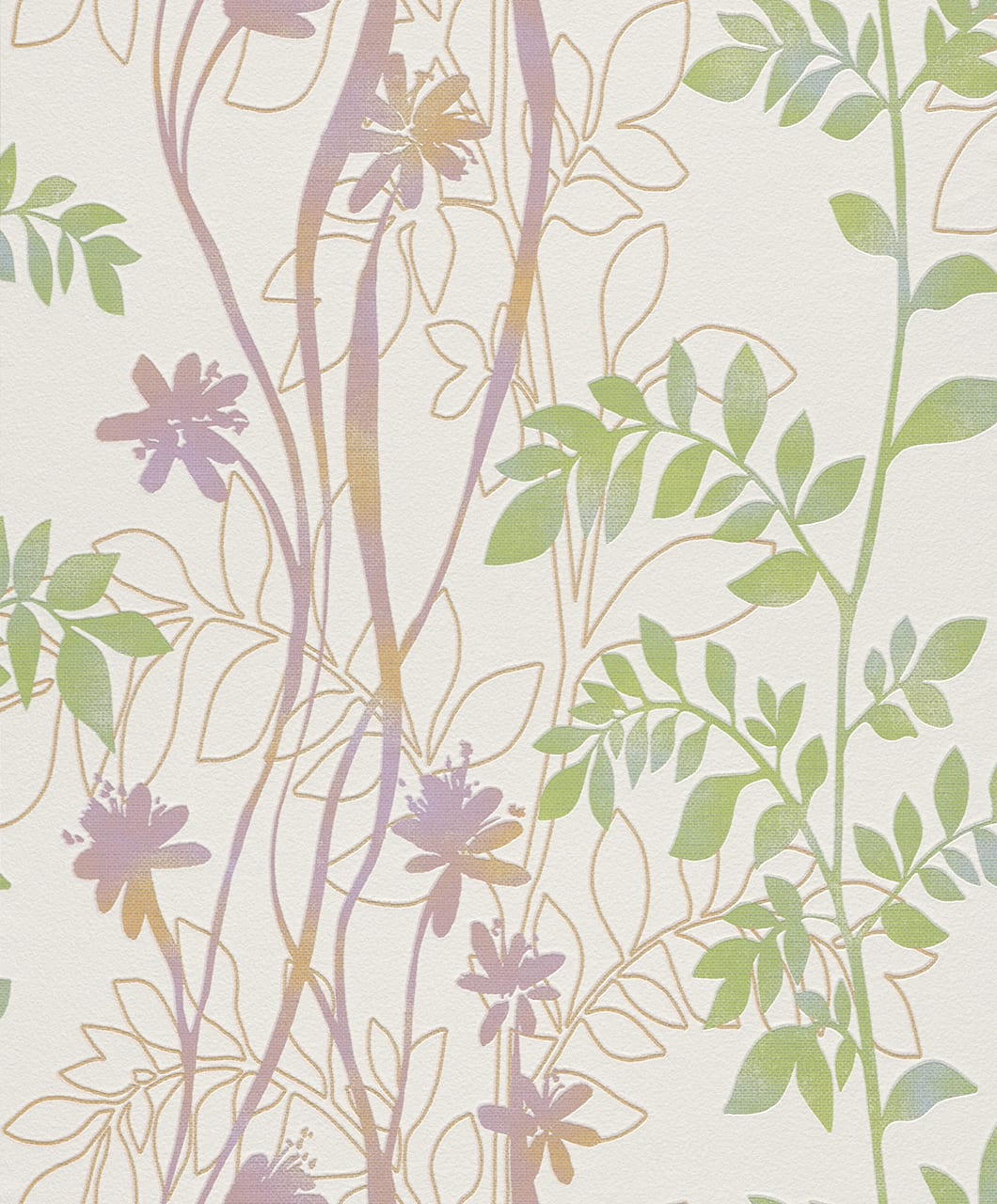 Papel mural Flores y ramas 705188 Rasch