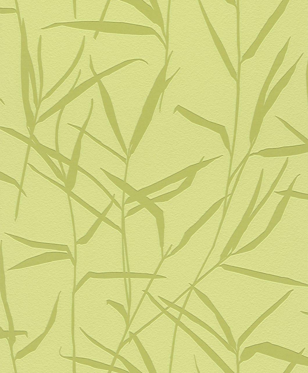 Papel mural bambu verde 709964 Rasch