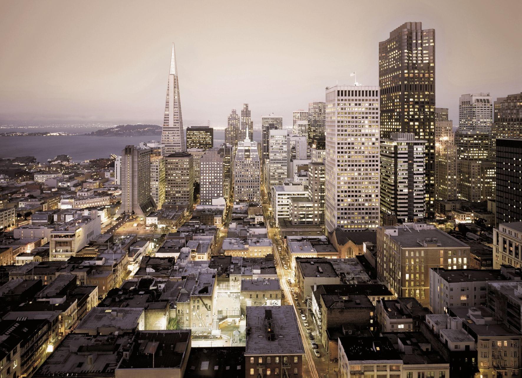 Fotomural Urban vista ciudad San Francisco 8709 Komar