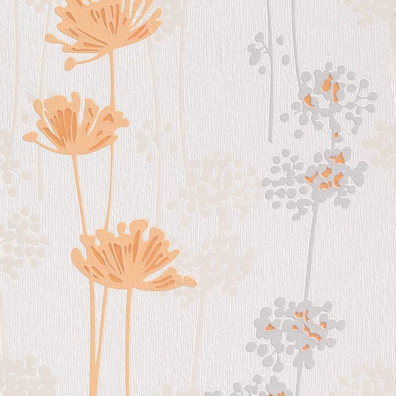 Papel mural flores damasco 863741 Rasch