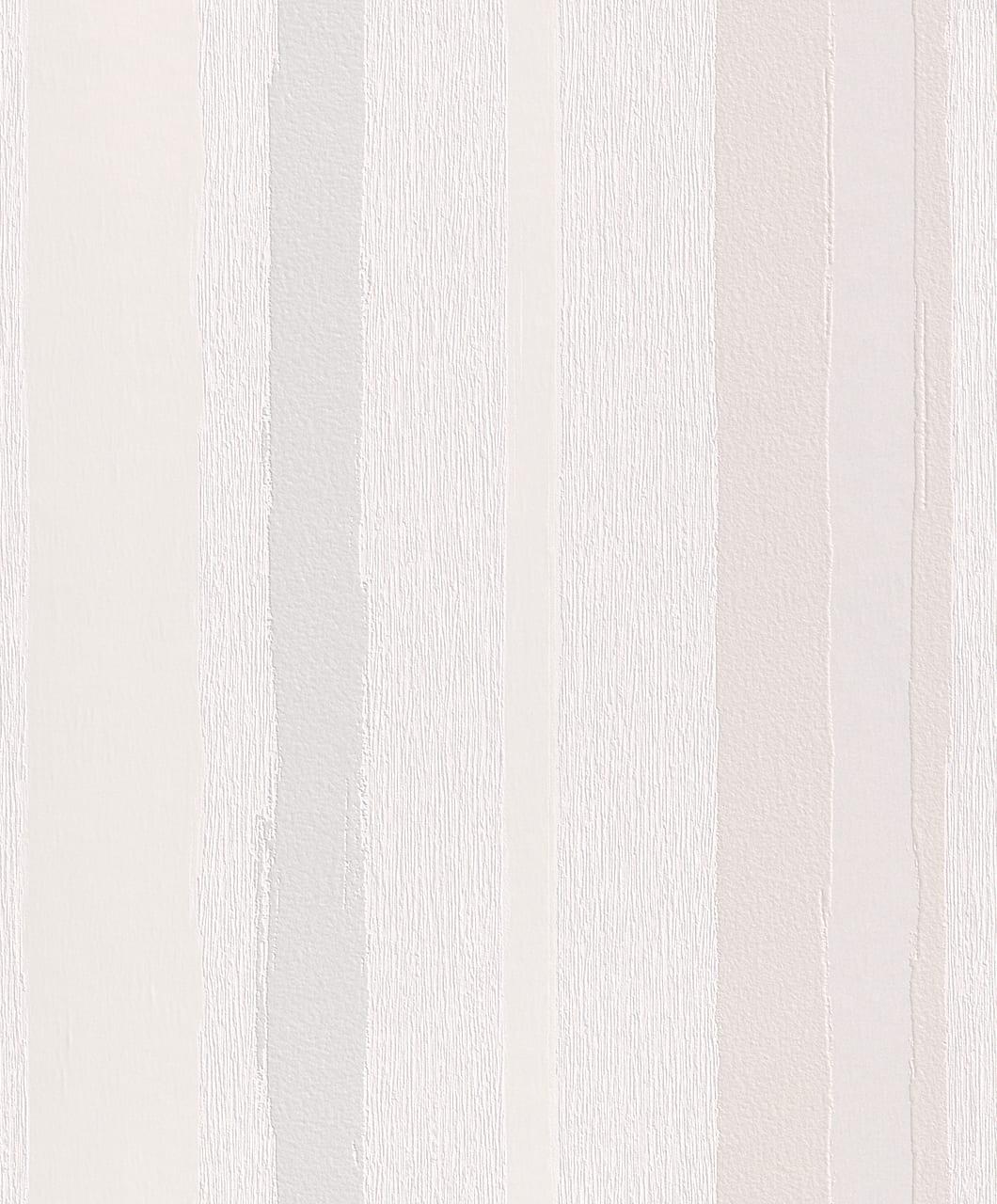 Papel mural listado beige y gris 863901 Rasch