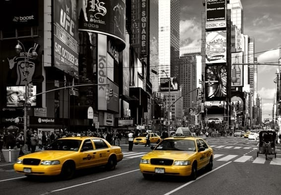 Fotomural Taxi Nueva York 97286