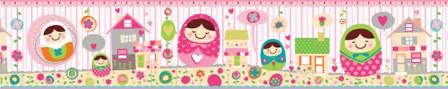 Guarda de papel infantil muñecas 9987-1 Muresco