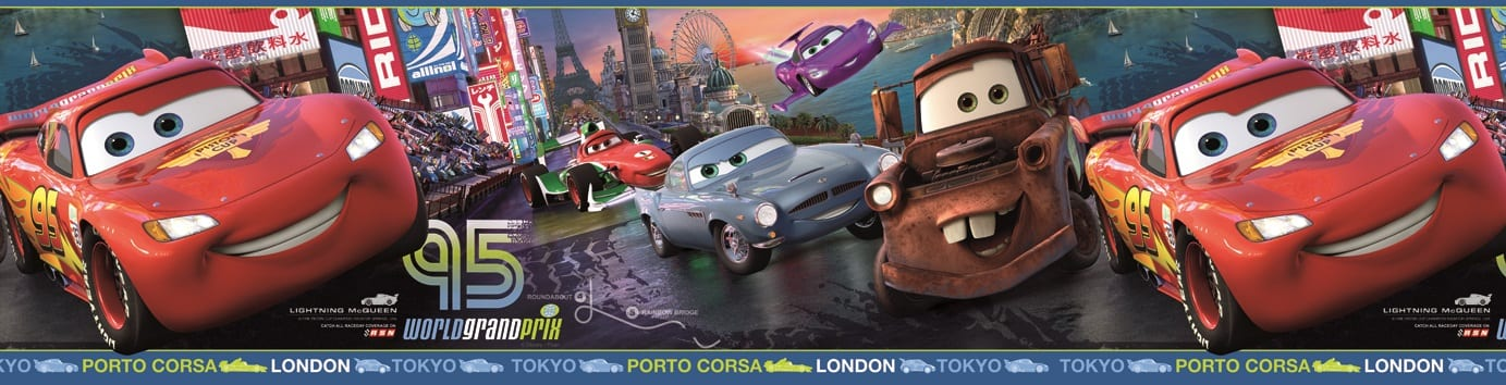 Guarda autoadhesiva Cars DISNEY 1259-1 Decolife Muresco