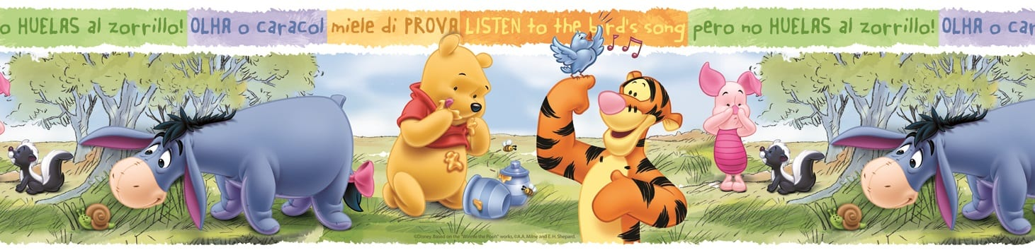 Guarda autoadhesiva Winnie the pooh DISNEY 1260-1 Decolife Muresco