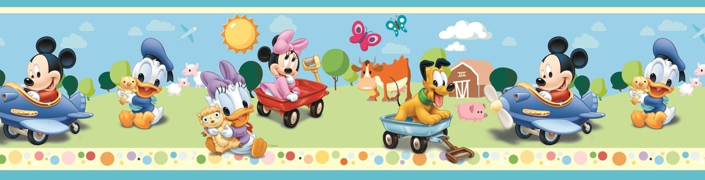 Guarda autoadhesiva Mickey y sus amigos DISNEY 1265-1 Decolife Muresco