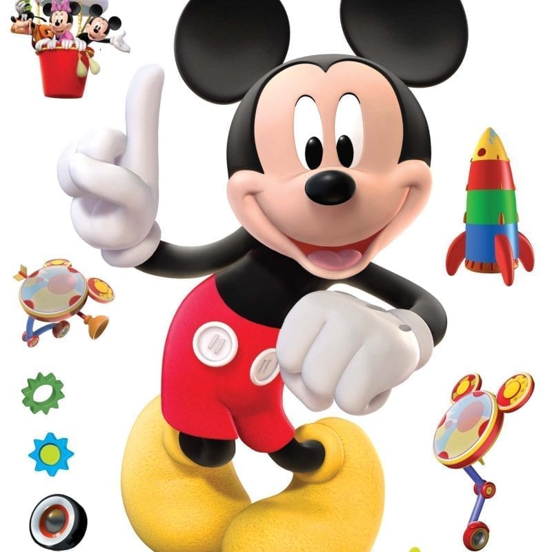 Wallsticker Mickey DISNEY 1518-1 Decolife Muresco