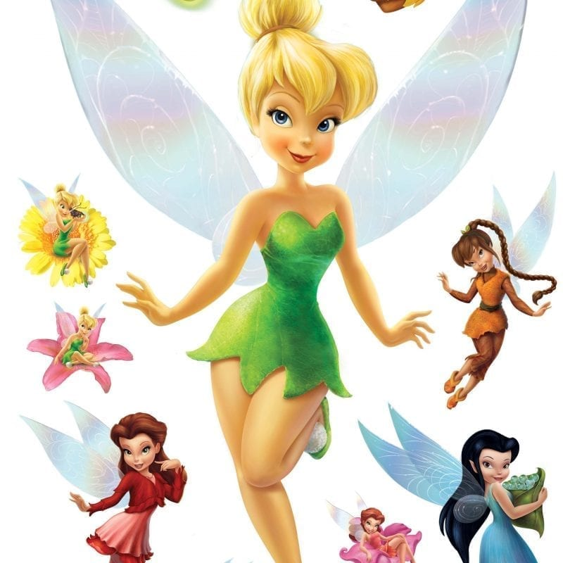 Wallsticker Hadas DISNEY 1524-1 Decolife Muresco