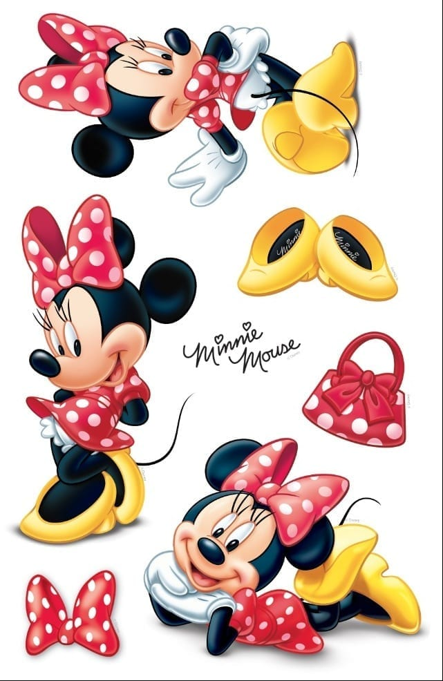 Wallsticker infantil Minnie DISNEY 1591-1 Decolife Muresco