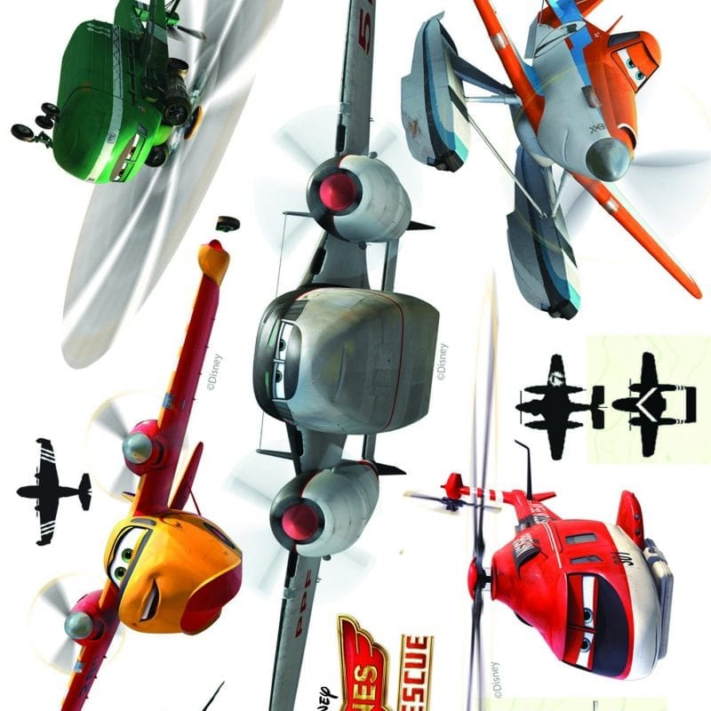 Wallsticker aviones / Plains DISNEY 1597-1 Decolife Muresco
