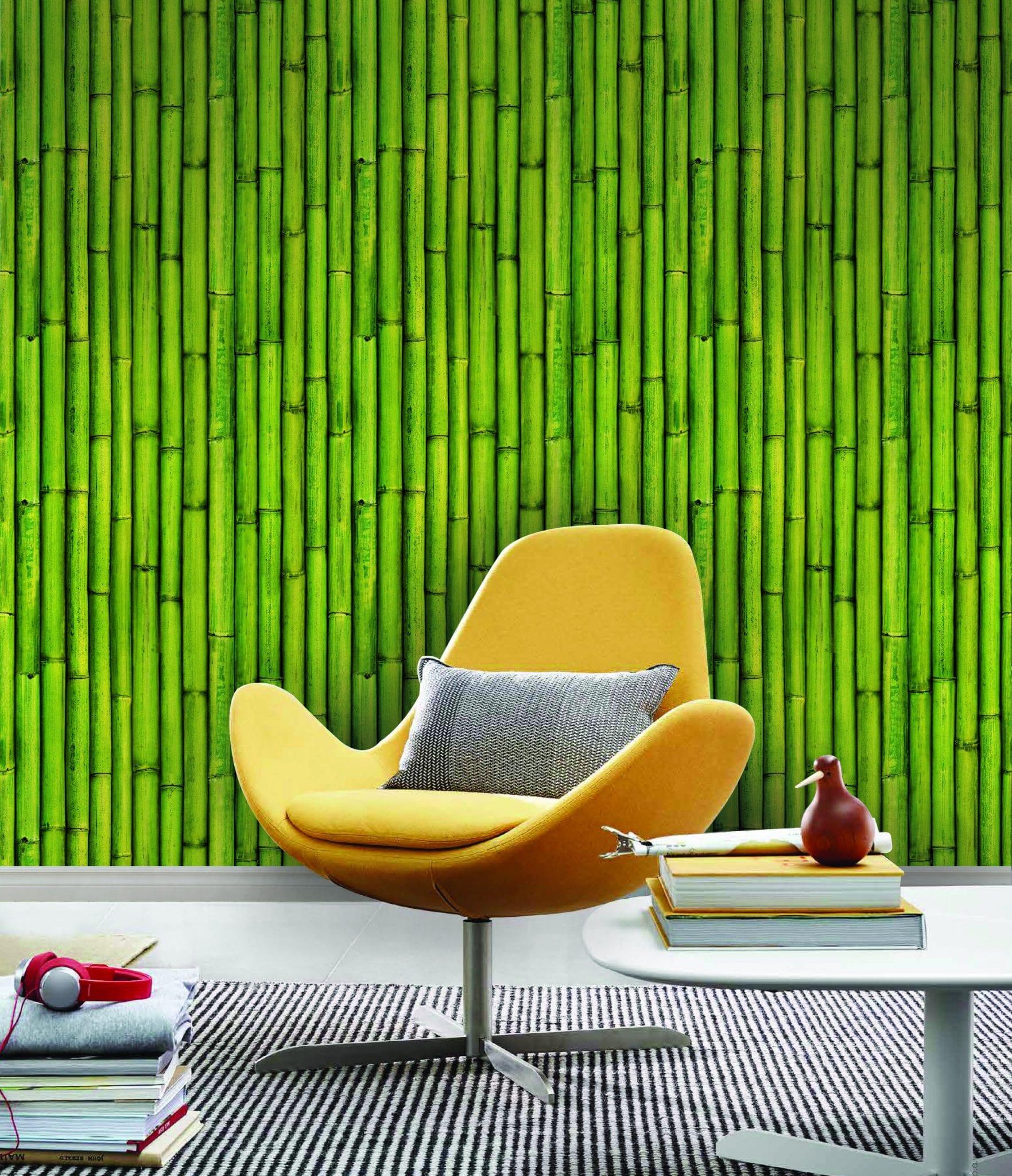 Papel mural vinilizado zen bamboo 3476 1 cinthiasa for Papel mural autoadhesivo santiago