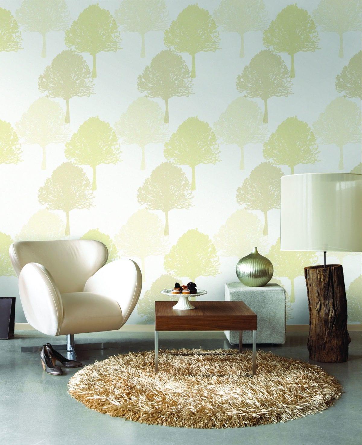 Papel mural en oferta arboles beige URBAN 4701-2 Muresco