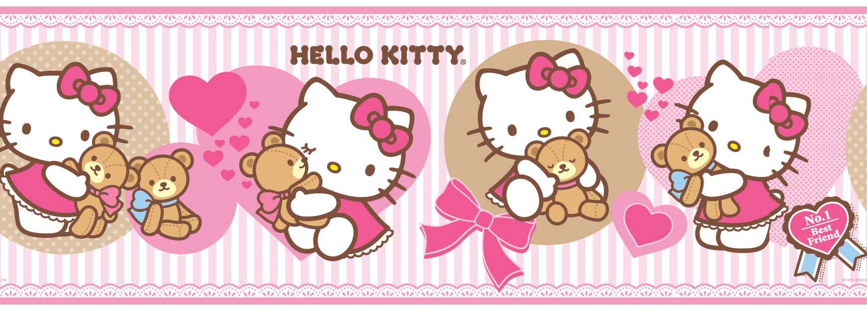 Guarda autoadhesica Hello Kitty 8509-1