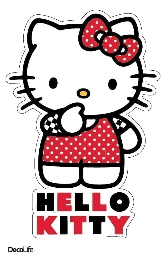 Wallsticker infantil Hello Kitty