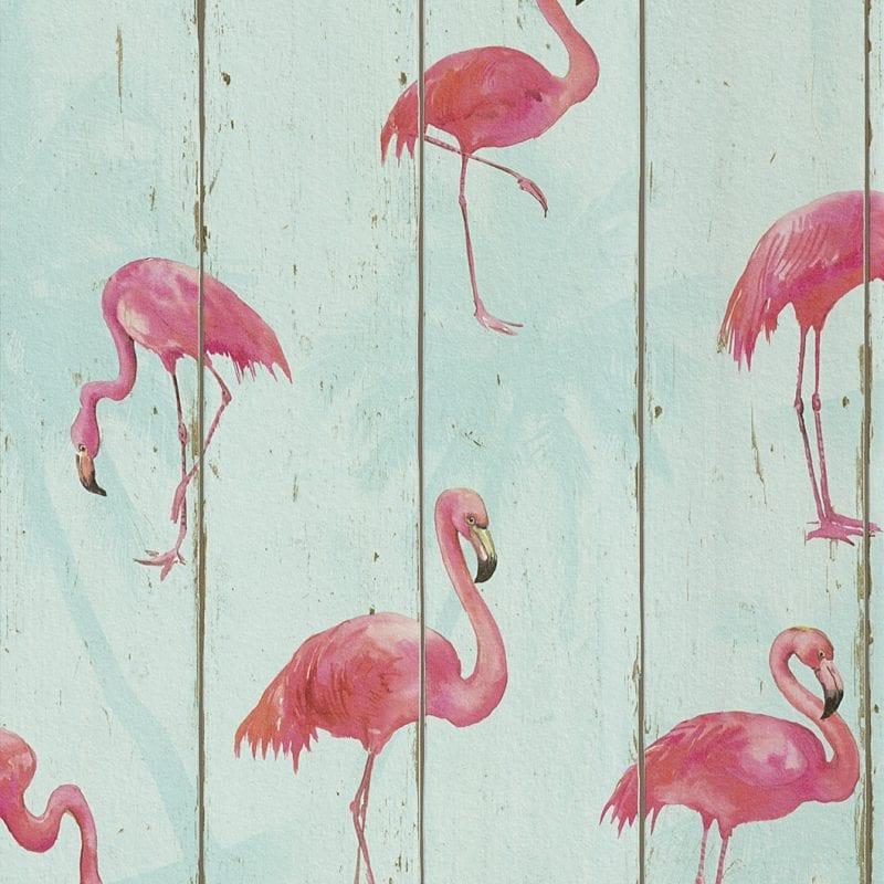 Papel mural Flamencos 479706 Rasch