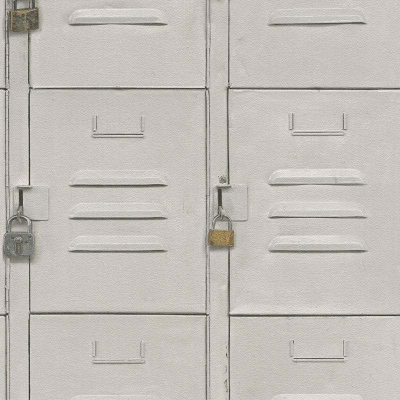 Papel mural lockers 524215 Rasch