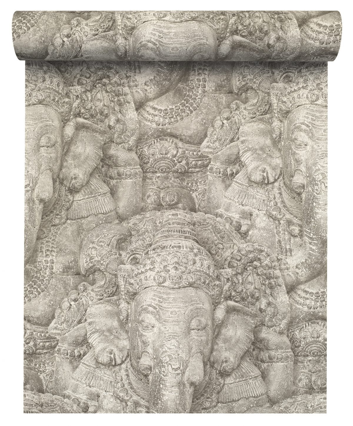 Papel mural elefantes ganesha CRISPY PAPER 525519 Rasch