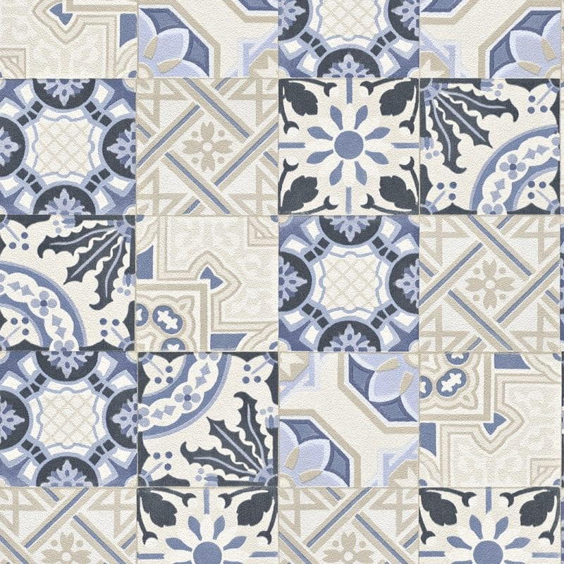 Papel mural azulejos - cerámicos 526325 Rasch