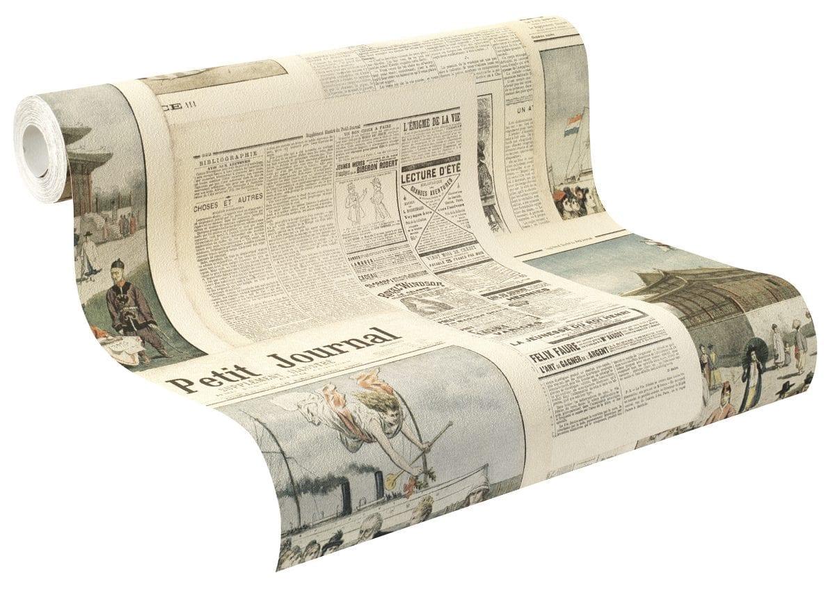 Papel mural Diarios CRISPY PAPER 526509 Rasch