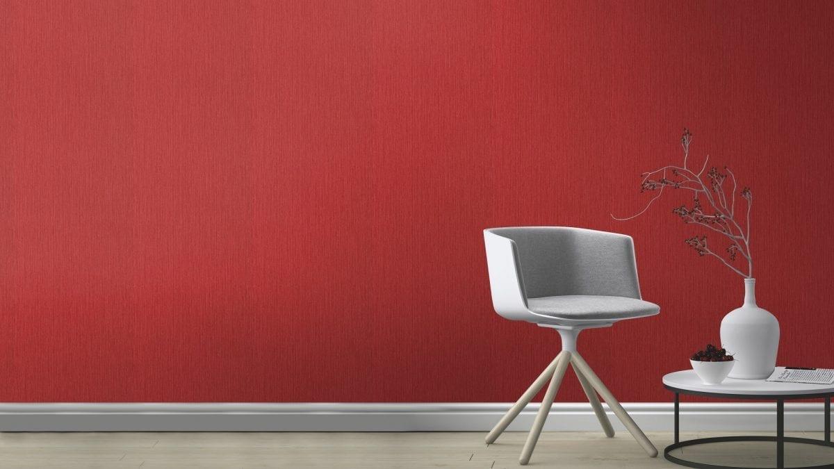 apel mural rojo CRISPY PAPER 573527 Rasch
