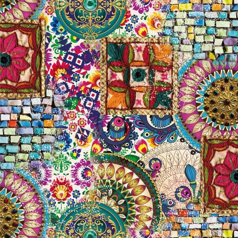 Papel mural Mandala 3710-1 Muresco