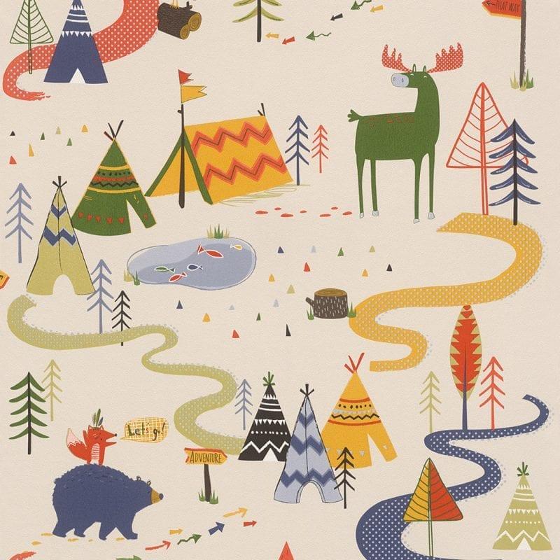 Papel mural infantil 292428