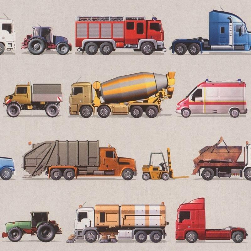 Papel mural camiones 293906