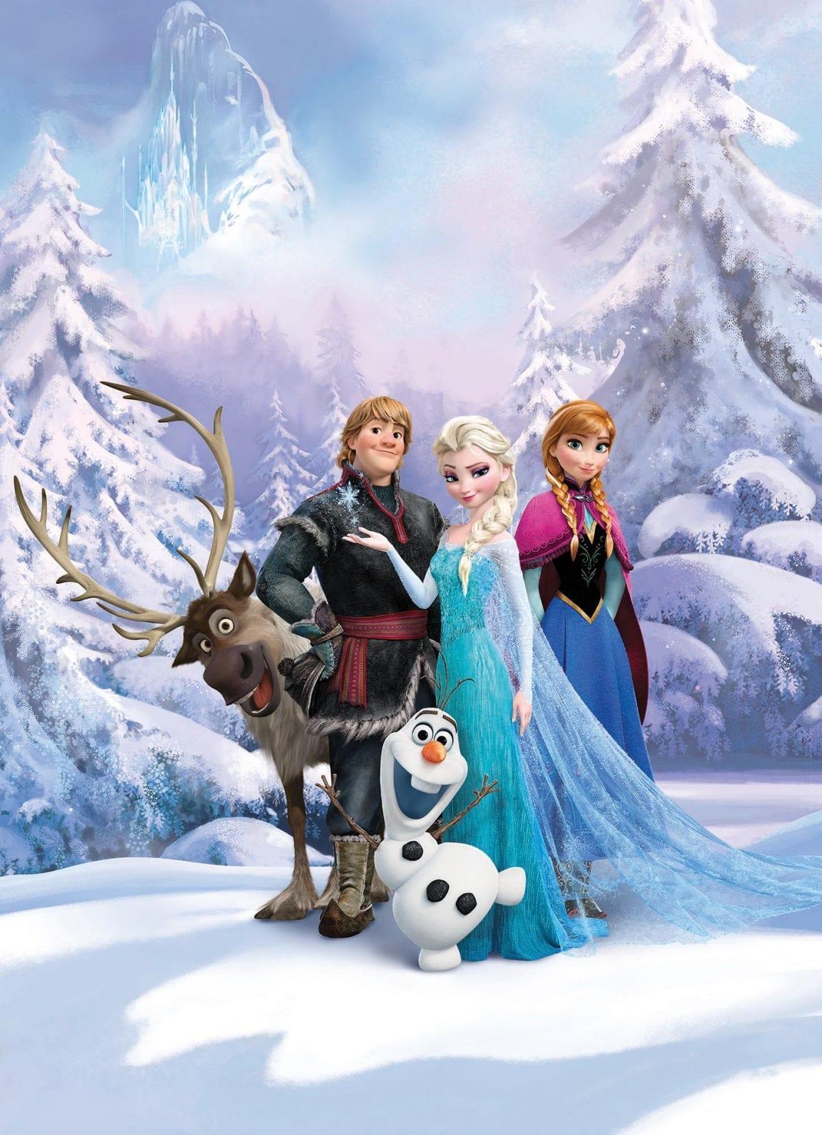 Fotomural Frozen Disney 4498 Komar