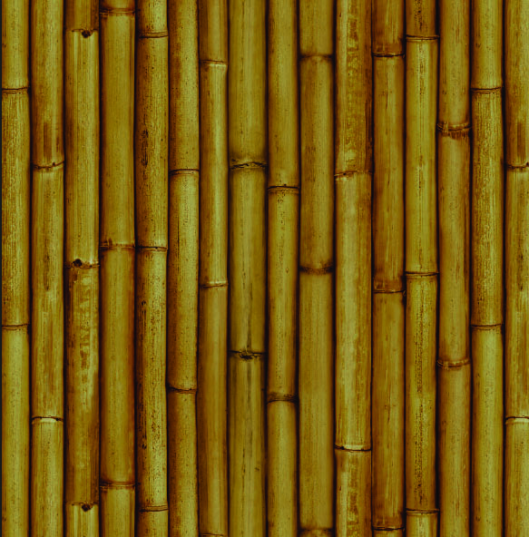 Papel mural Bambu natural 3476-2 Muresco