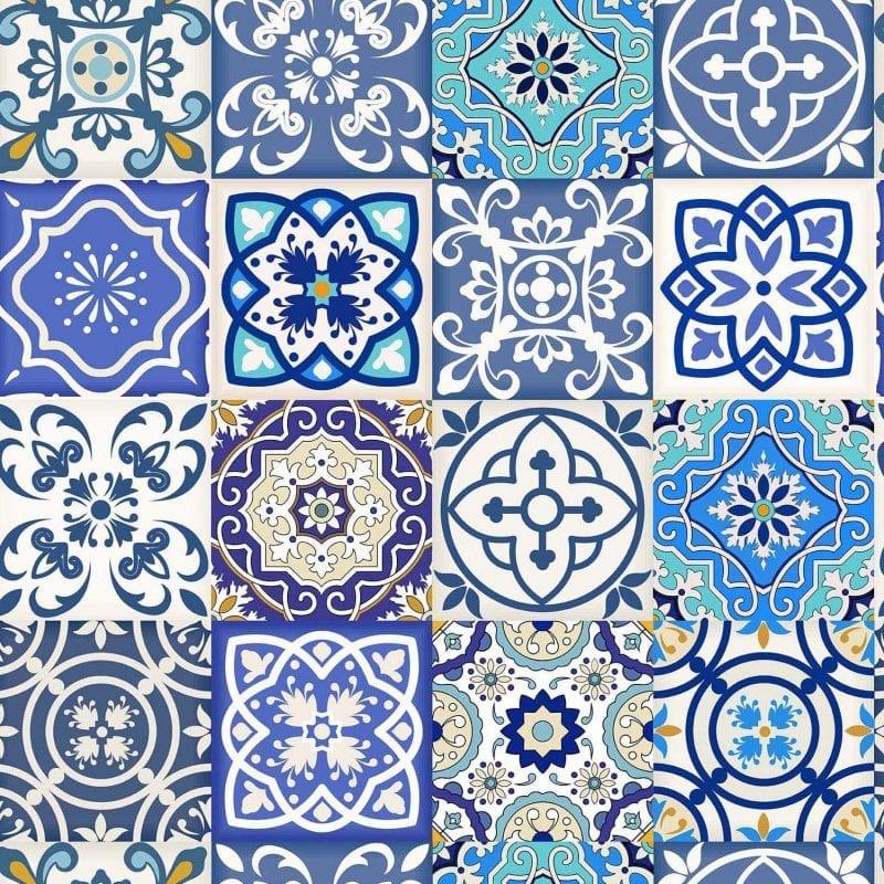 Papel mural azulejos 7305-1 Muresco