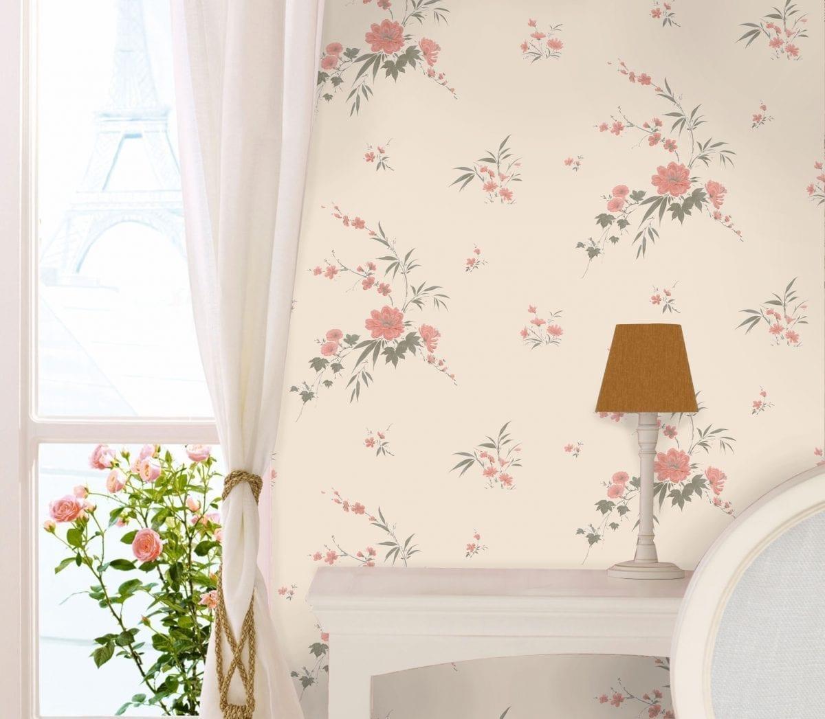 Papel mural flores 7309-2 Muresco