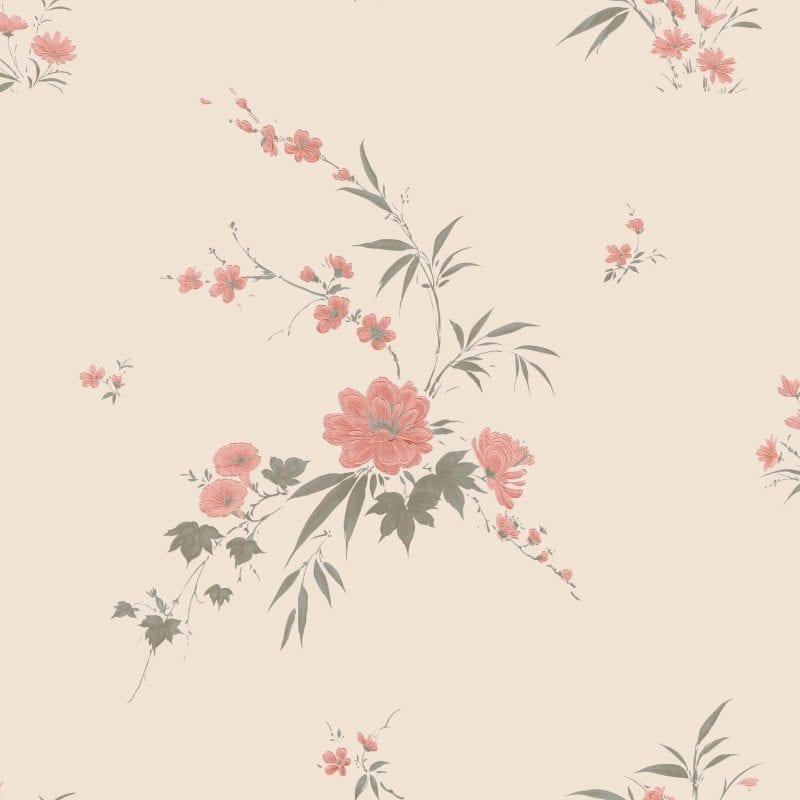 Papel mura flores 7309-2 Muresco