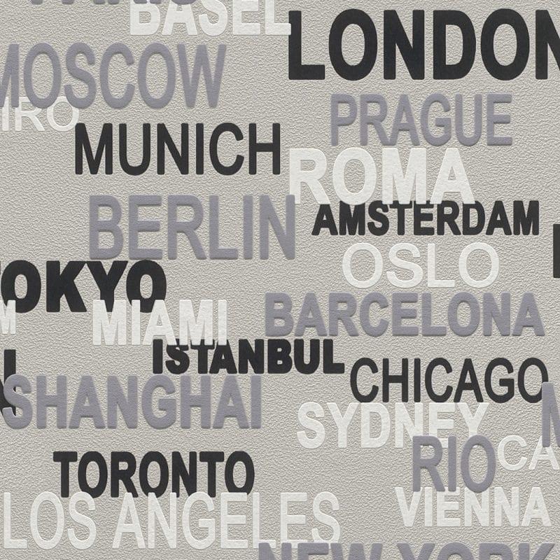 Papel mural letras 766721