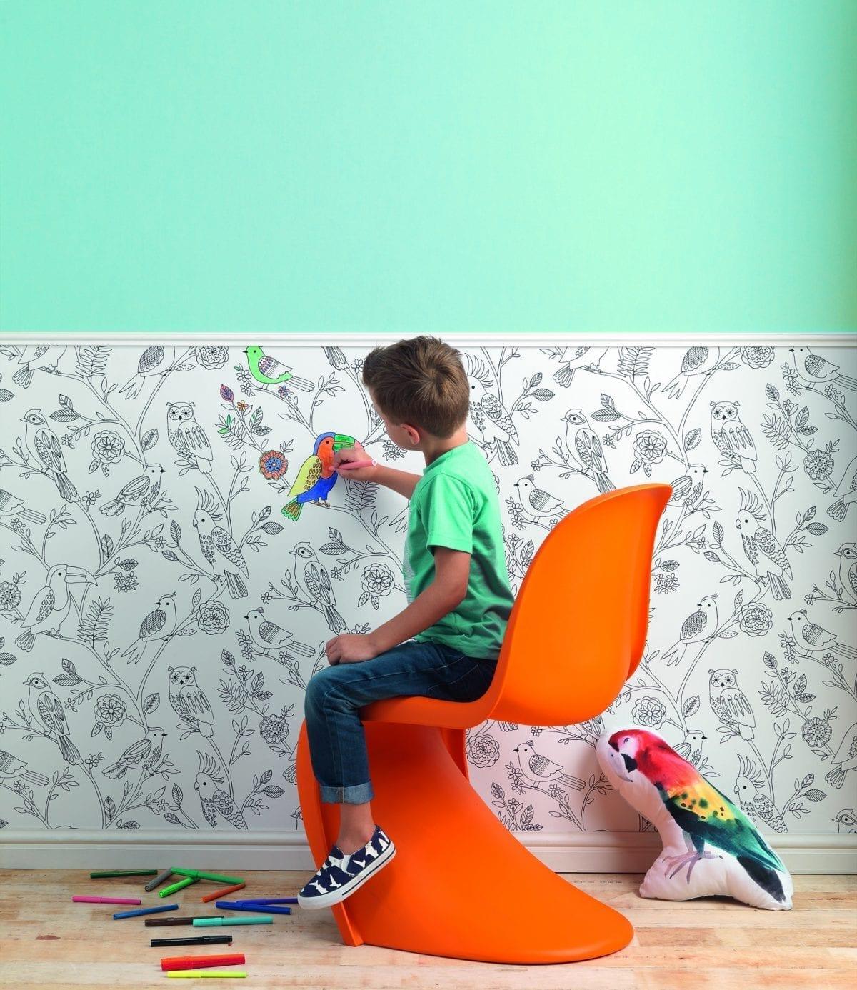 Papel mural para niños que se pinta 292909