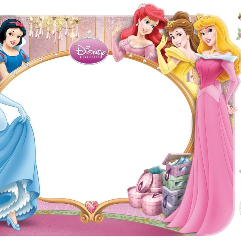 Wallsticker Princesas DISNEY 1561-1